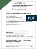Mathematics Paper 4 Impqs