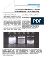 TDS-243 Optimizing Performance Carbopol ETD 2020 Ultrez 10 Partial Neutralization Polymer Dispersions