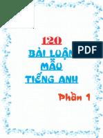 [123doc.vn] 120 Bai Luan Tieng Anh