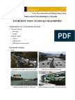 Intro to transport