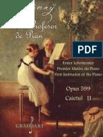 Primul profesor de pian - Czerny opus 599 caietul 2