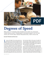 Degrees of Speed