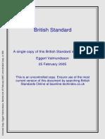 British Standard for Laser Welding