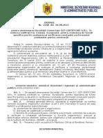 116.Ordin Nr.2448-06.08.2013 Pentru Desemnarea Societatii Comerciale GCP CERTIFICARI S.R.L. in Vederea Notificarii La Comisia Europeana