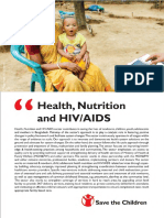 Health Nutrition and HIV/AIDS Booklet - Save the Children in Bangladesh