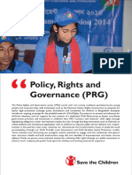 Policy Rights Governance Booklet - Save the Children in Bangladesh