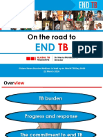 Dr Mario Raviglione (WHO Global TB Prog. Director)'s presentation in World TB Day 2016 webinar
