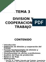 División y Cooperación del Trabajo