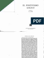 1.Ayer, A. J., El positivismo lógico.