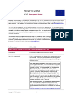 European Union IFRS Profile