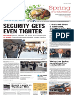 Asbury Park Press front page Wednesday, March 23 2016