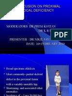 Proximal Femoral Focal Deficiency 3