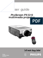 ProScreen PXG10 multimedia projector