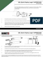 barret Suppressor Instructions
