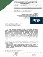 Proiect Statut Mun. Chisinau