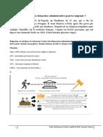démarches administratives migrants B2