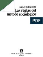 2.Durkheim, E., Prólogo a la Segunda Edición RMS