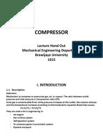 Bahan Kuliah Compressors 1
