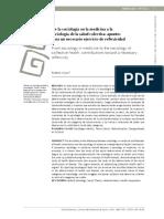 De la sociología en la medicina a la sociología de la salud colectiva