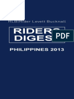 RLB Rider's Digest (Phils.) 2013