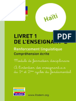 Haiti Livret 1 Comprehension Ecrite 0