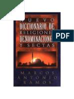 Diccionario de Religiones Denominacion y Sectas
