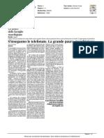 Si inseguono le telefonate. La grande paura marchigiana - Il Corriere Adriatico del 22 marzo 2016