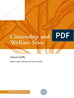 Citizenship and the Welfare State