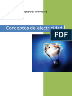Concepto de Electricidad