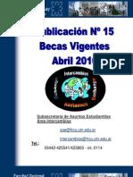 PublicacionNro15BecasVigentesAbril2010