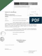 Informe Legal SERVIR, Situación de Personal Contratado Por Servicios No Personales