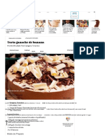 Torta Ganache de Banana _ MdeMulher