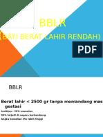 Bayi BBLR