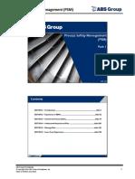 Process Safety Management -Part1