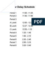 2hourdelay8periodschedule