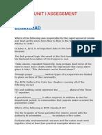 Fir 3303 Unit i Assessment
