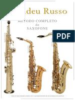 Método - Saxofone - Amadeu Russo