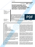 NBR-14037-1998 Manual Das Edificações