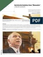 """""""Morosidad en el Servicio de Justicia"""" Vallaro- López. PUBLICACIÓN REVISTA DEPARTAMENTO DE DERECHO UGD- Nº 1. Nov 2014"""