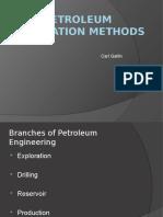 Petroleum Exploration Methods
