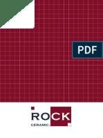 Rock Ceramic Catalogo 2016