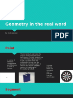 geometry in the real word