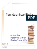 Kinetics and Thermo by Amarendra Vijay