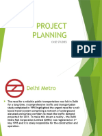 Project Planning success and failure examples