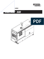 Manual Vantage 500