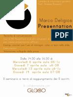 Marco Deligios, Presentation Skills