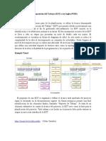 Estructura de La Descomposición Del Trabajo (EDT) o (WBS)