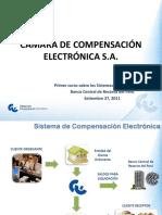 Camara de Compesación Electronica - CCE. Horarios. Dias Utiles.