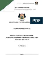 BASES CONVOCATORIA Nº03-MPC-FINAL2016