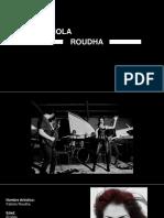 Biografia Oficial 2016 de Fabiola Rudha